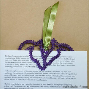 Freestanding Lace Stallion Bookmark - a-stitch-a-half