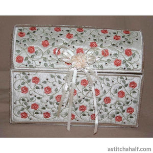 French Rose Chest - a-stitch-a-half