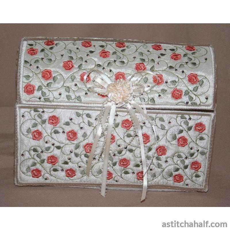 French Rose Chest Applique