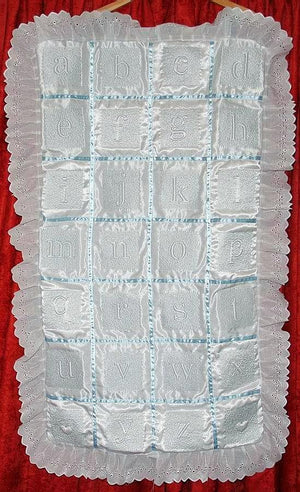 Trapunto Educational Quilt 02 - a-stitch-a-half
