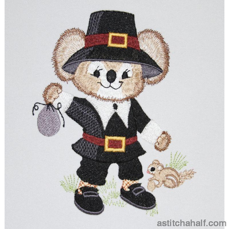Fuzzy George Embroidery Fill