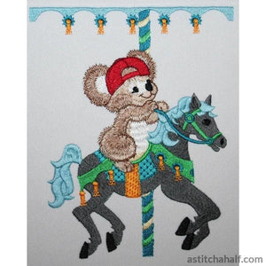 Fuzzy Jacob On Carousel Embroidery Fill