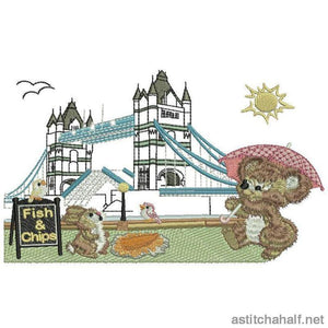 Fuzzy London Combo - a-stitch-a-half