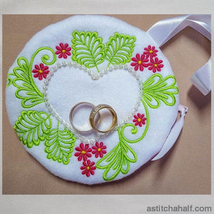 Heart Bag With In The Hoop Zipper All In