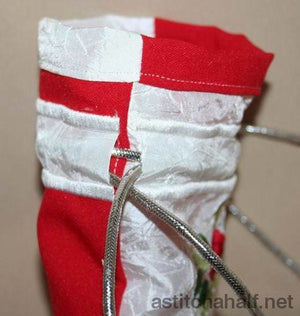 Hearty Drawstring Bag - a-stitch-a-half