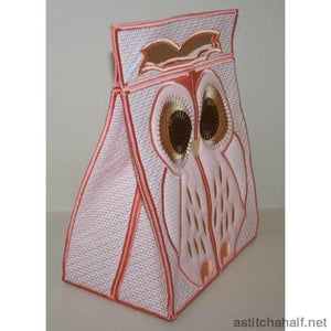 Heloise Owl Bag Applique