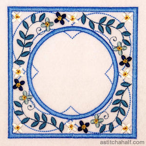 Hues of Blue - Persian Blue - a-stitch-a-half