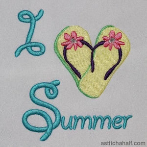 I love summer - a-stitch-a-half