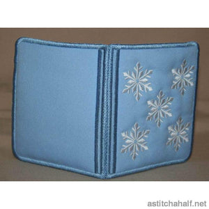 Icicle Wallet - a-stitch-a-half