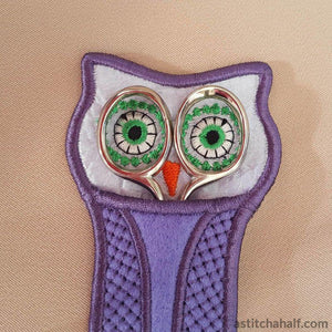 Ith Owl Scissor Pocket All In The Hoop