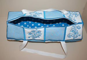 One Touch Kit Bag with Zipper Option - a-stitch-a-half