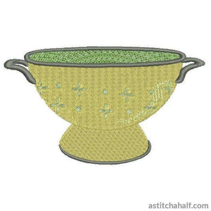 Kitchen Essentials - Colander - a-stitch-a-half