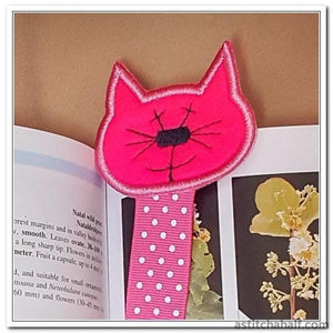 Kitty Bookmark Applique