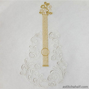 Lace And Strings Combo Embroidery Fill