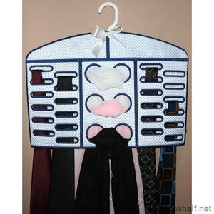 Lace Tie Organizer Applique