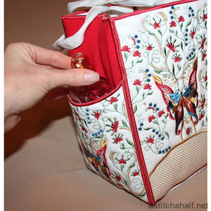Ladies Tote Bag - a-stitch-a-half