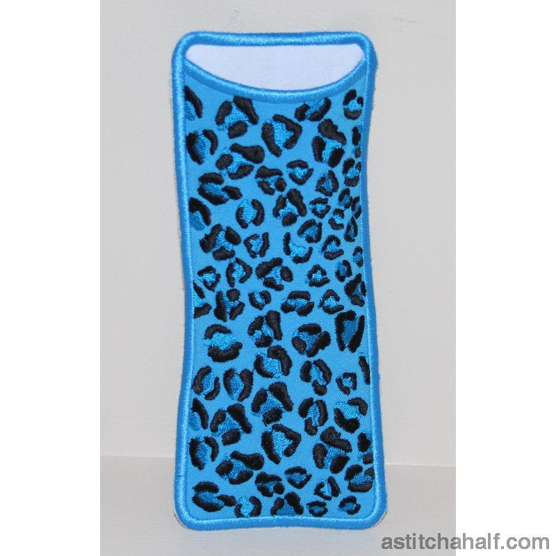 Leopard Chic Eyeglass Cases All In The Hoop