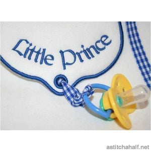Let It Drool Little Prince All In The Hoop