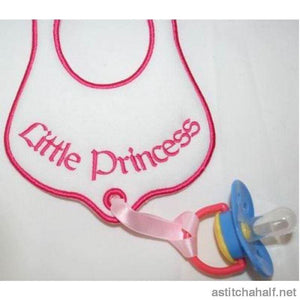 Let it Drool Little Princess - a-stitch-a-half