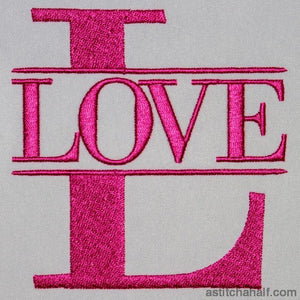 Love Letter Embroidery Fill