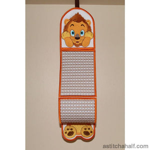 Lubaya the Lion Toilet Roll Holder - a-stitch-a-half