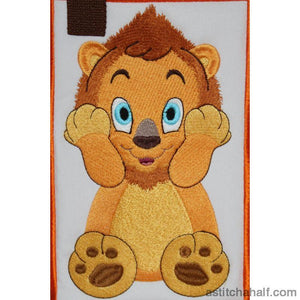 Lubaya The Lion Tote Bag Applique