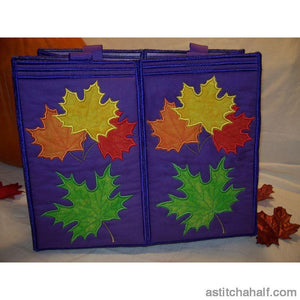Maple Leaves Tote Bag Applique