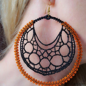 Marvelous Web Freestanding Lace Earrings