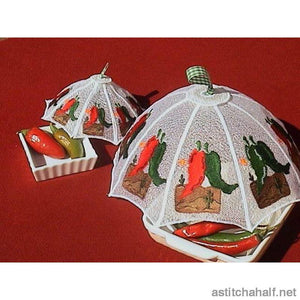 Mexican Chili Peppers Food Tent - a-stitch-a-half