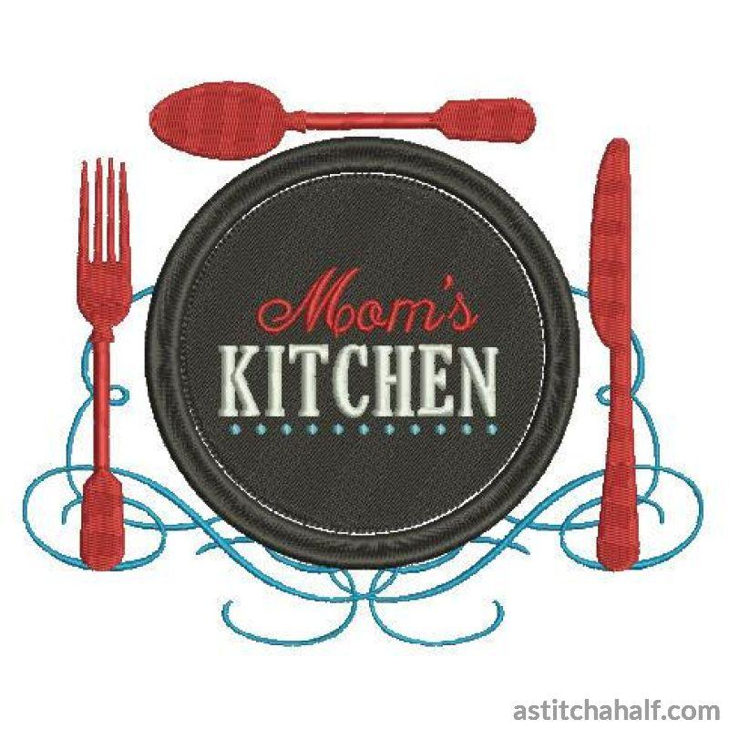 Moms Kitchen - a-stitch-a-half