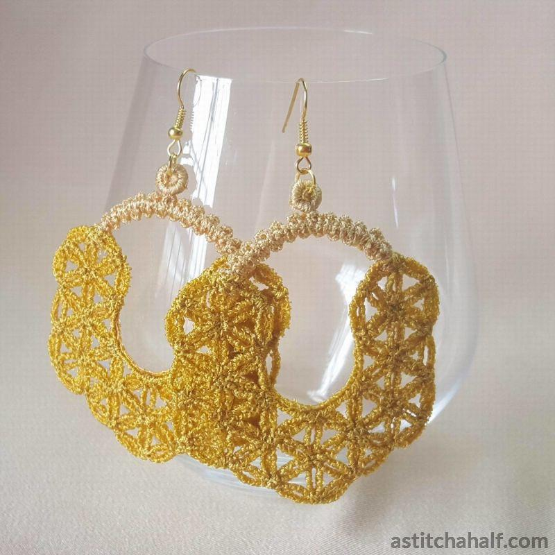 Moroccan Freestanding Lace Earrings
