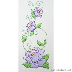 Most Popular Flowers Combo - a-stitch-a-half