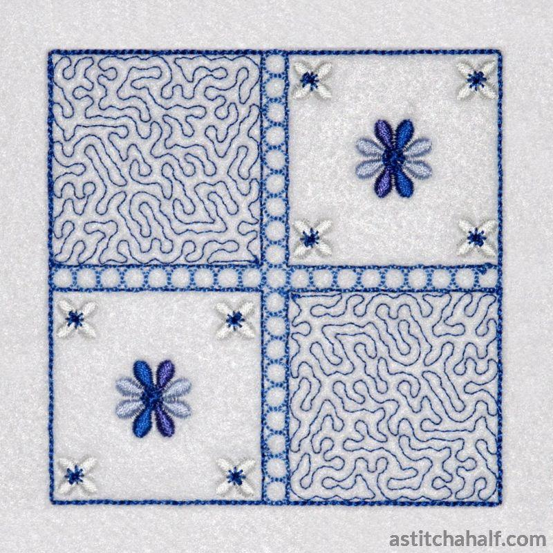 Most Popular Stippling Quilt Block Embroidery Fill