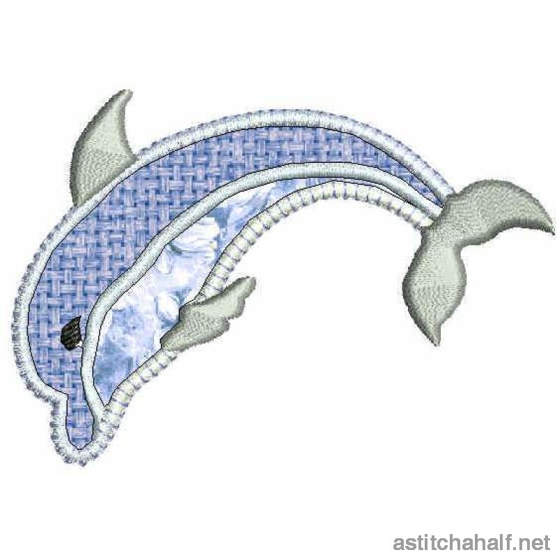 Ocean Applique - a-stitch-a-half