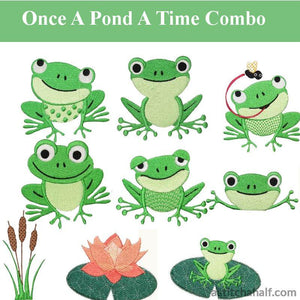 Once A Pond A Time Combo - a-stitch-a-half