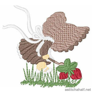 Our Herb Garden Embroidery Fill