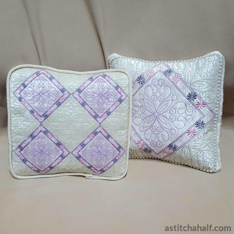 Pastel Dreams Pillow Quilt Quilting