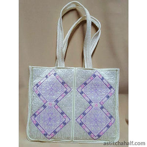 Pastel Dreams Skinny Tote Embroidery Fill