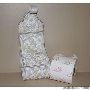 Pearly Promise Toilet Roll Holder Applique