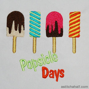 Popsicle Days - a-stitch-a-half