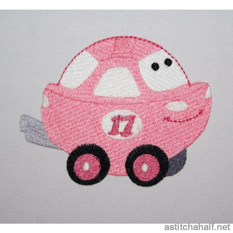 Precious Car Embroidery Fill