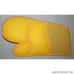 Regal Oven Gloves - a-stitch-a-half