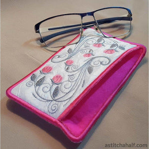 Ring Of Roses Eyeglass Case In The Hoop