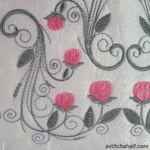 Ring of Roses Pillow Quilt Collection - a-stitch-a-half