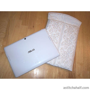 Roses Tablet Cover - a-stitch-a-half