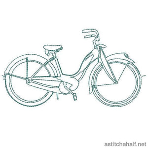 Running Bicycles Combo - a-stitch-a-half