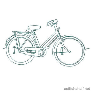 Running Bicycles Combo Stitch