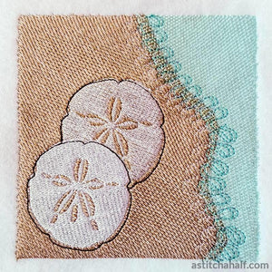 Sand Dollar Embroidery Fill