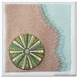 Sea Urchin - a-stitch-a-half