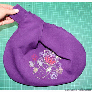 Sew Simple Reversible Knot-Bag Embroidery Fill